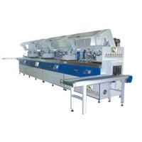 Multi-Color Full Auto Screen Printing Line for Container