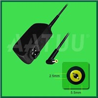 Newly design mini 20-40W easy-portable laptop wall plug charger
