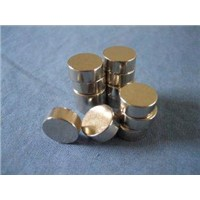 Nickel Plated Custom Neodymium Disk Small Round Magnets