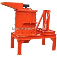 Ore vertical combination crusher