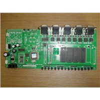 PCB Assembly with 1 to 26 Layers and 0.5 to 6.0oz Copper Thickness