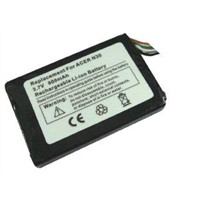 PDA Li-ion Batteries 3.7V 900 mAh FOR Acer N30 BlueMedia Jucon GPS-3741, Lenco Nav 400