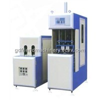 PET semi-auto stretch and blow molding machine