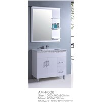 PVC bathroom cabinet furniture