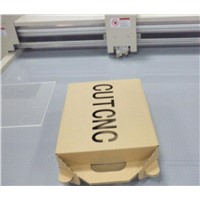 Packaging paper carton computerized sample cutting machine