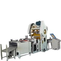 Perforated ceiling production line