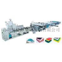 Plastic Hollow Grid Board Production Line