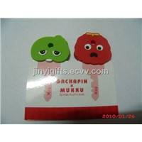 Plastic Promotion Key Cap/Key Holders Factory Gachapin Mukku