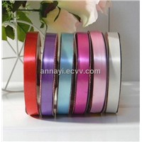 Plastice ribbon for holiday gifts and decoration of band