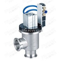 Pneumatic High Vacuum Angle Valve