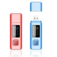 Portable USB Mini Rechargeable Mp3 Player with Microsd Card Slot BT-P121