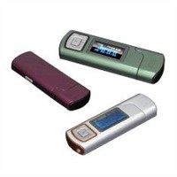 Portable USB Rechargeable Mini Mp3 Player with Microsd Card Slot BT-P108