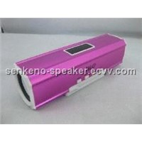 Portable mini speaker for MP3/ MP4/ FM radio