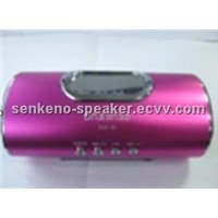 Portable mini speaker for MP3/ MP4/ Mobile Phone/ FM radio