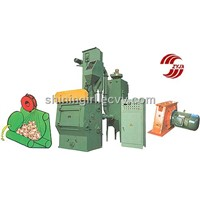 Q 32 Crawler type shot blasting machine