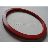 Red Gasket  Made of Silicone