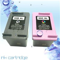 Remanufactured ink cartridge for HP 60 series