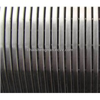 HengyuanReverse rolled slotted wedge wire screen and V-wire oil screen filter tube