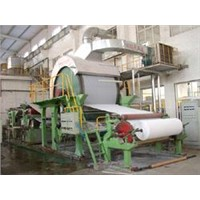 Single-Cylinder and Single-Wire Tissue Paper Machine
