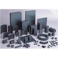 Sintered Ferrite Ceramic Magnetics Segments for Motors