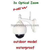 Speed Dome Camera with Optical Zoom Waterproof Outdoor Use/Speed Camera (TB-Z031BW)