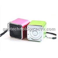 Support USB disk,TF card and also with FM portable mini speaker