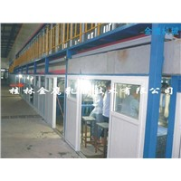 Surgical glove production line