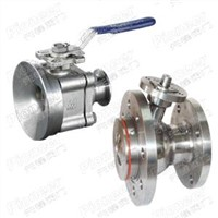 Flush Tank Bottom Ball Valve