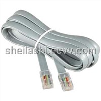 Telephone Cable With Solid PE Insulation and PVC Jacket