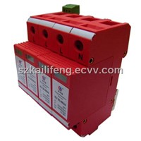 Three-Phase Modular Type Power Surge Protector:KLF380-40KA/4(with remote signaling)