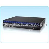 Touch Panel DVR,4 CH HalfD1 real time consumer DVR