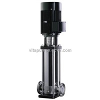 VDL,VDLF series Vertical multistage stainless steel centrifugal pump