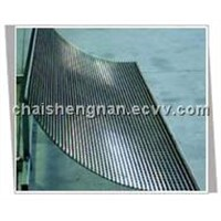 V-wire Arc sieving screen and welded vibrating screen  mesh