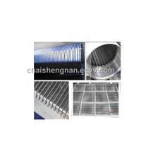 V-wire welded panel sieving screen mesh and johnson scrren pipe