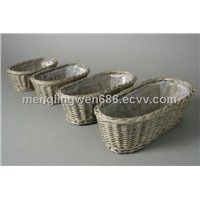 Wicker Flower pots