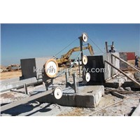 Wire Saw Machine for Stone Block Squaring (DWSG-18A-6P)