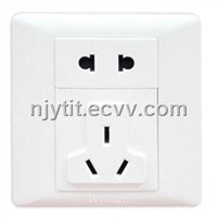 Wireless Security Socket (wall mounting)