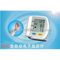 Wrist digital sphygmomanometer