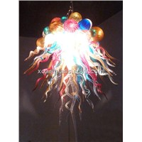 XO art glass chandelier xo-201121 and hand-blown chandelier and crystal chandelier