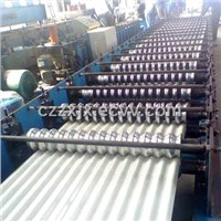 YX18-63.5-825corrugated roofing iron forming machine