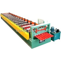 YX35-125-750 color steel tile roll forming machine