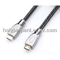 Zink alloy braided HDMI cable assemblies