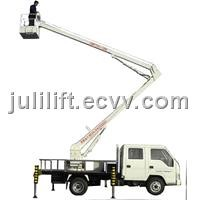 car-carrier folding arm work lift SJYC0.2-12