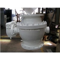 casting trunnion orfloating full bore gear worm ball valve stock list
