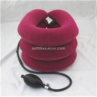 As seen on TV--cervical aids neck traction to decrease neck pain