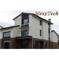 composite outdoor cladding UK, MexyTech synthetic wood manufacturer in China