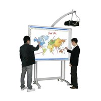 dual pen dual user interactive whiteboard