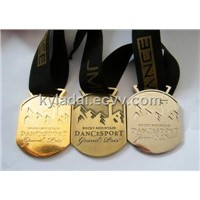 gold medal, sports medal, swimming medal, medal of honor