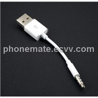 good quality short usb 2.0 data cable for ipod shuffle