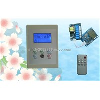 movable evaporative cooler controller